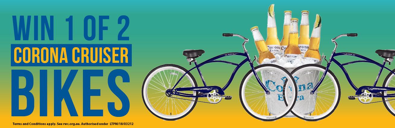Win 1 Of 2 Corona Cruiser Bikes