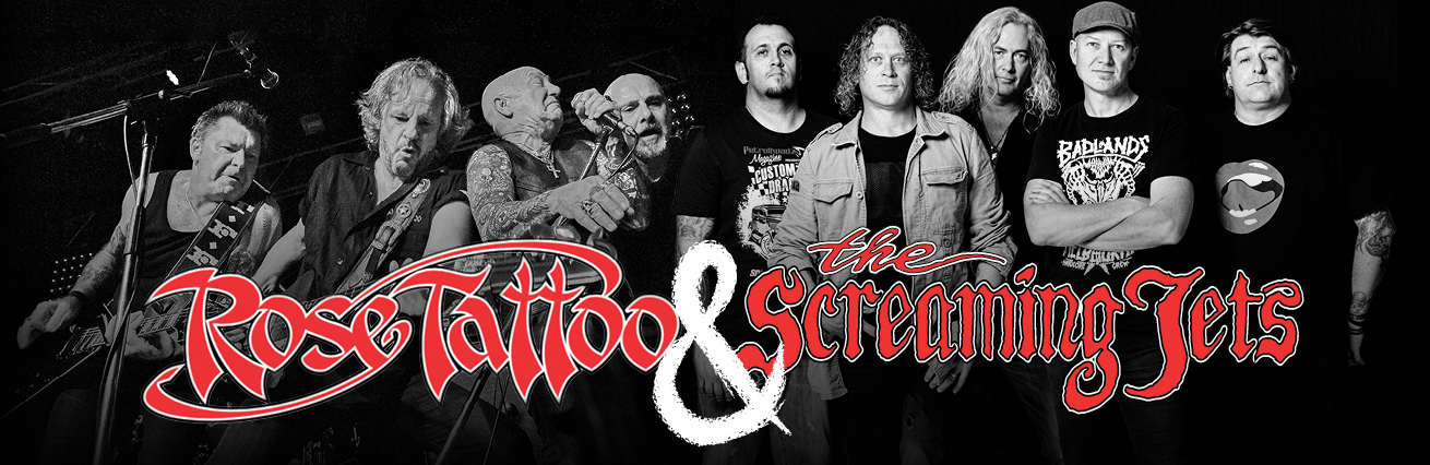 Screaming Jets And Rose Tattoo  - Off The Chain