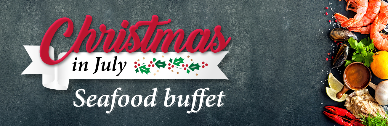 Seafood Buffet - Christmas In July